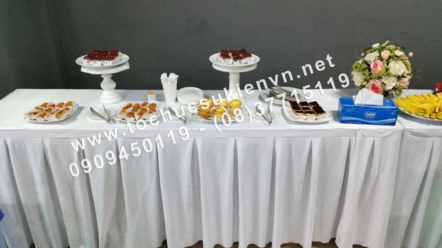 Cho thuê bàn ghế tiệc teabreak 2