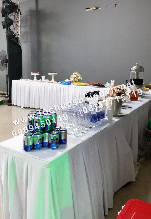 Cho thuê bàn ghế tiệc teabreak 3