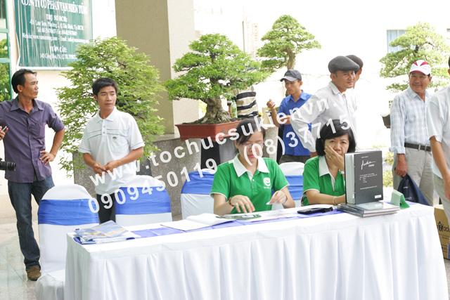 Tổ chức triển lãm Bonsai Việt Nam 9
