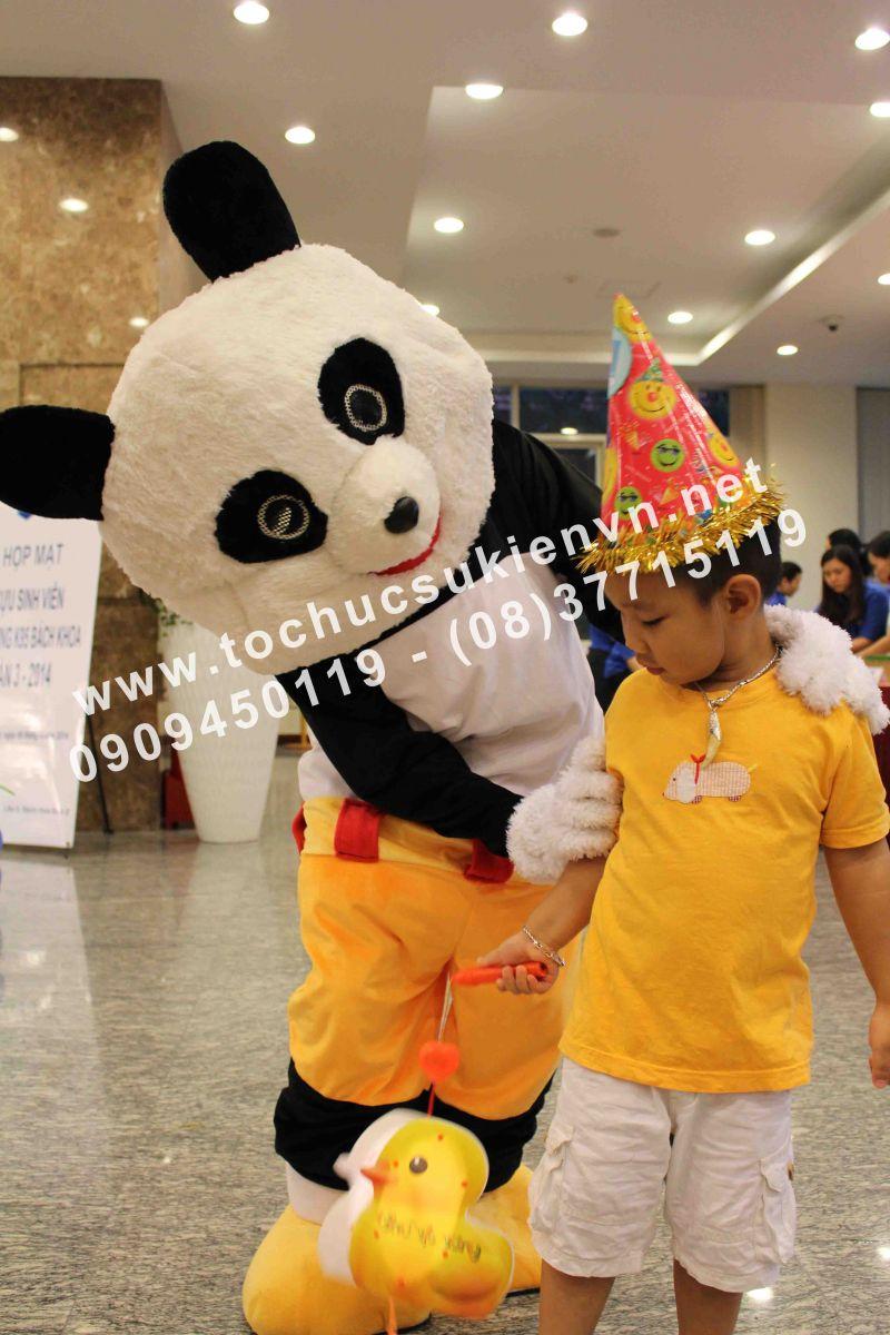 Cho thuê mascot gấu pooh, chuột micky Ngàn Thông 6