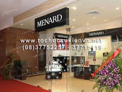 Tổ chức lễ khai Trương Menard 2