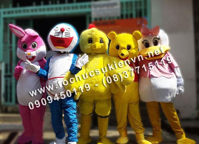 Thiết kế và sản xuất mascot 7
