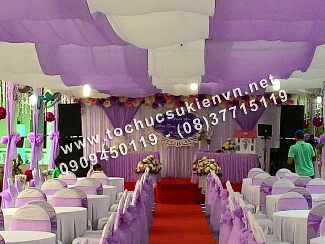 Cho thuê khung rạp đám cưới tại TpHCM và các tỉnh lân cận 4