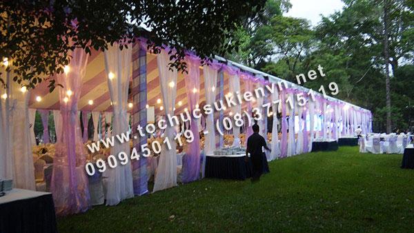 Cho thuê khung rạp đám cưới tại TpHCM