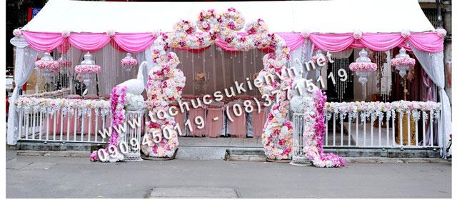 Cho thuê khung rạp đám cưới tại TpHCM  6