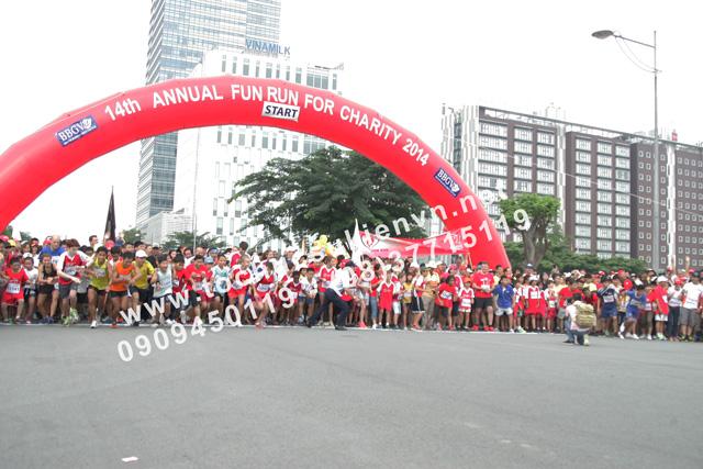 Tổ chức hoạt động ngoài trời Chạy bộ gây quỹ từ thiện - Fun Run 6