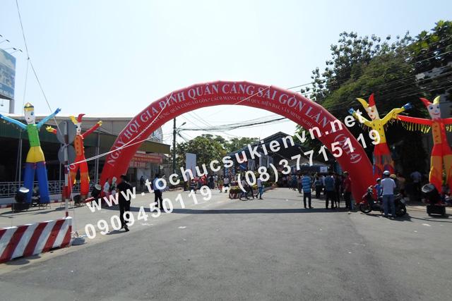 Tổ chức sự kiện ngày hội gia đình quân cảng sài gòn