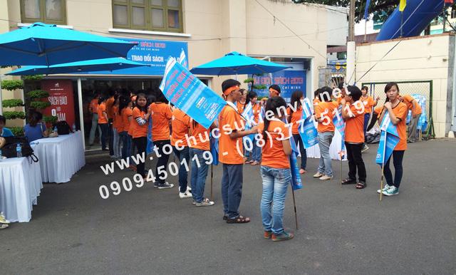 Tổ chức sân khấu ngoài trời Ngày hội đọc sách TPHCM 2
