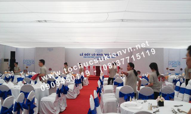 Tổ chức Lễ khánh thành nhà máy VNG 4