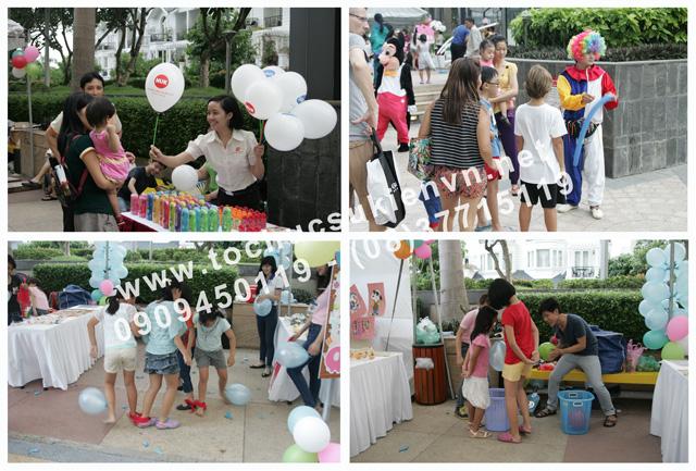 Tổ chức ngày hội thiếu nhi Saigon Pearl 2