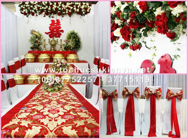 Cho thuê bàn ghế đám cưới Ngàn Thông 3