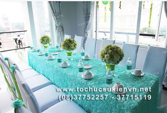Các mẫu bàn ghế tiệc cưới HCM 6