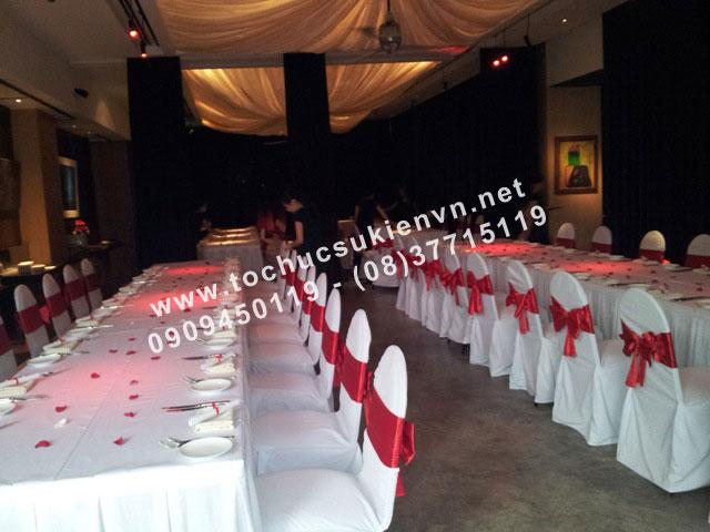 Dịch vụ cho thuê bàn ghế tiệc cưới 2