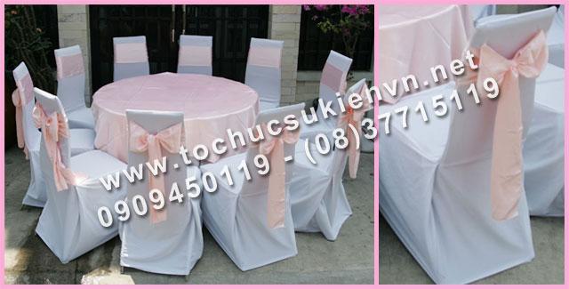 Cho thuê bàn tròn tiệc giá rẻ TPHCM 5