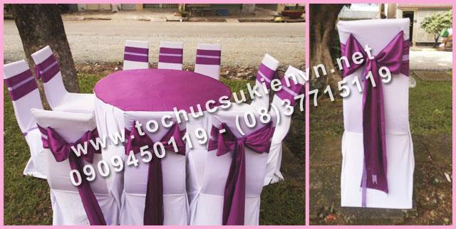 Cho thuê bàn tròn tiệc giá rẻ TPHCM 8