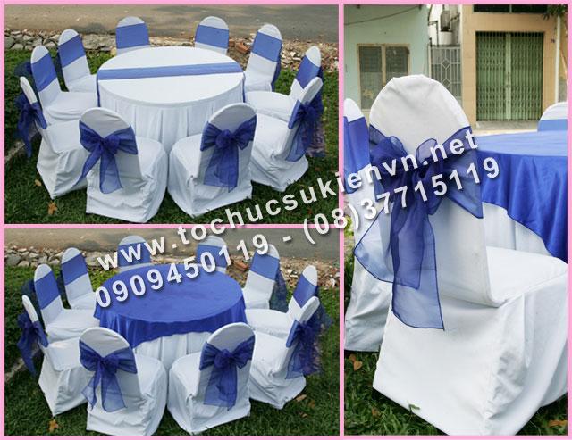 Cho thuê bàn tròn tiệc giá rẻ TPHCM 14