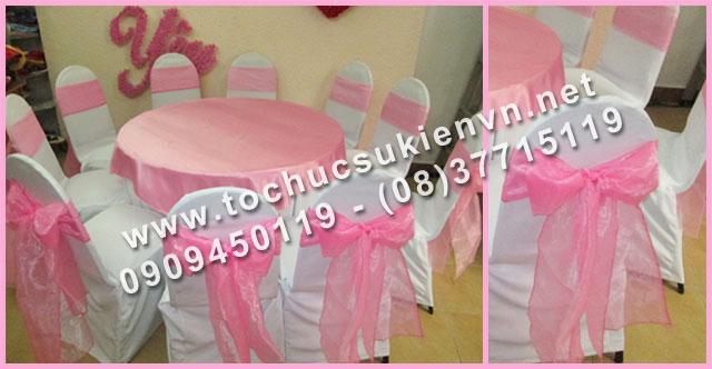 Cho thuê bàn tròn tiệc giá rẻ TPHCM 10