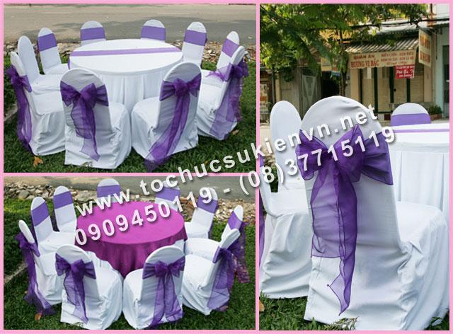 Cho thuê bàn tròn tiệc giá rẻ TPHCM 12
