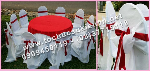 Cho thuê bàn tròn tiệc giá rẻ TPHCM 16