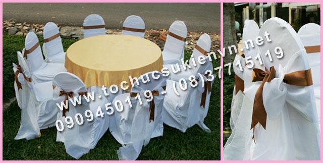 Cho thuê bàn tròn tiệc giá rẻ TPHCM 17