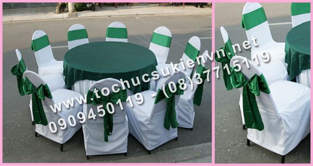 Cho thuê bàn tròn tiệc giá rẻ TPHCM 21