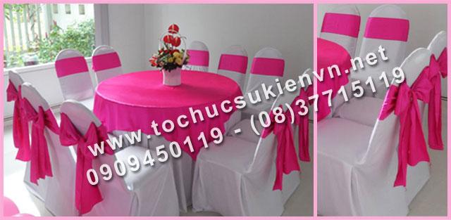 Cho thuê bàn tròn tiệc giá rẻ TPHCM 27