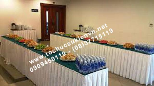 Cho thuê bàn tiệc buffet 2