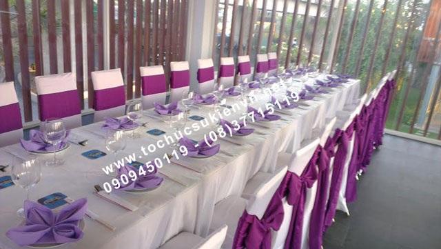 Cho thuê bàn tiệc buffet 3