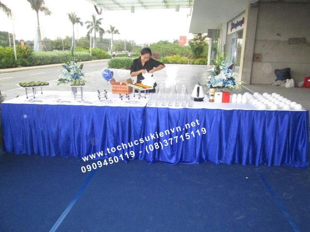 Cho thuê bàn tiệc buffet TPHCM 3