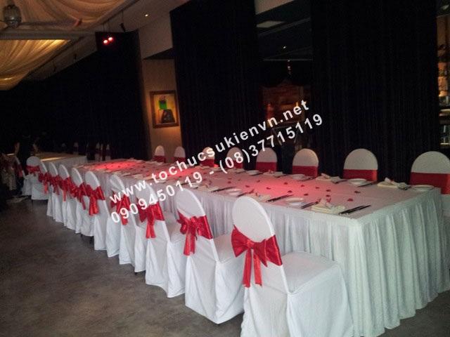 Cho thuê bàn tiệc buffet cao cấp 2