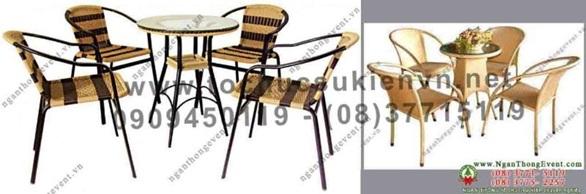 Bàn ghế tphcm giá rẻ Ngàn Thông 2