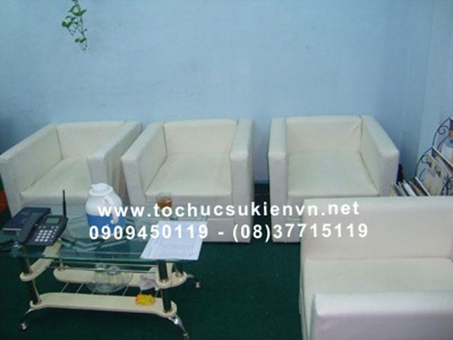 Cho thuê bàn ghế sofa HCM