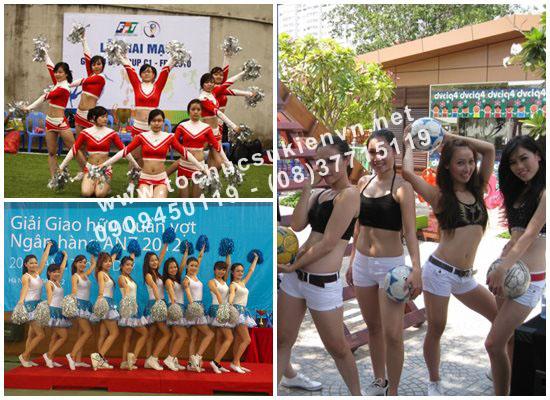 Dịch vụ cho thuê nhóm múa và vũ đoàn TPHCM
