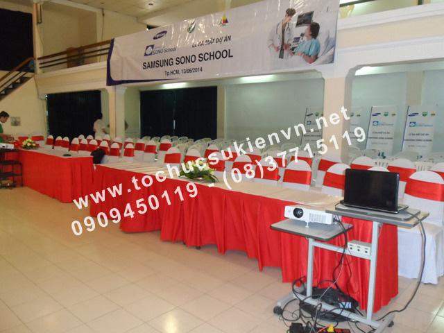 Tổ chức lễ ra mắt dự án Samsung Sono School 2