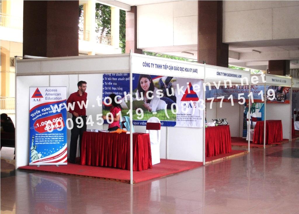 Tổ chức hội chợ triển lãm 1