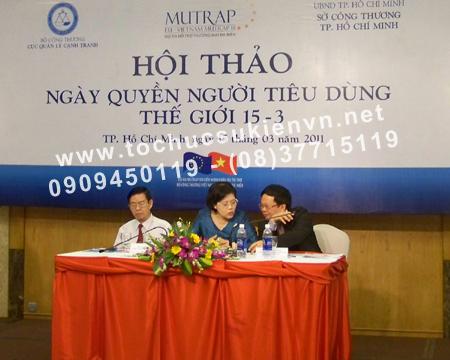 Tổ chức hội nghị hội thảo  7