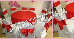 Cho thuê bàn tròn tiệc cưới 2