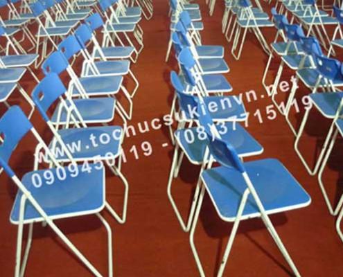 Cho thuê ghế xếp xuân hòa 2