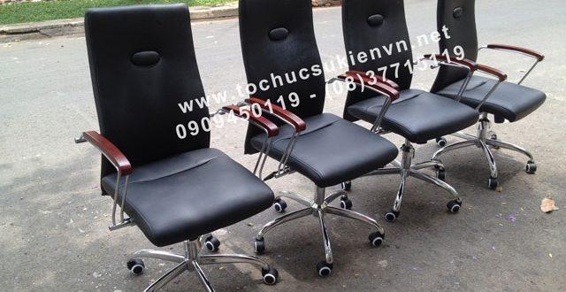 Cho thuê bàn ghế vip - ghế chân quỳ TPHCM 5