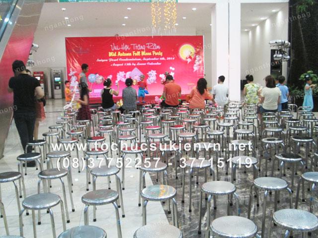 Tổ chức trung thu chung cư Saigon Pearl 14