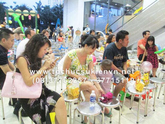 Tổ chức trung thu chung cư Saigon Pearl 16