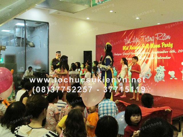 Tổ chức trung thu chung cư Saigon Pearl 17