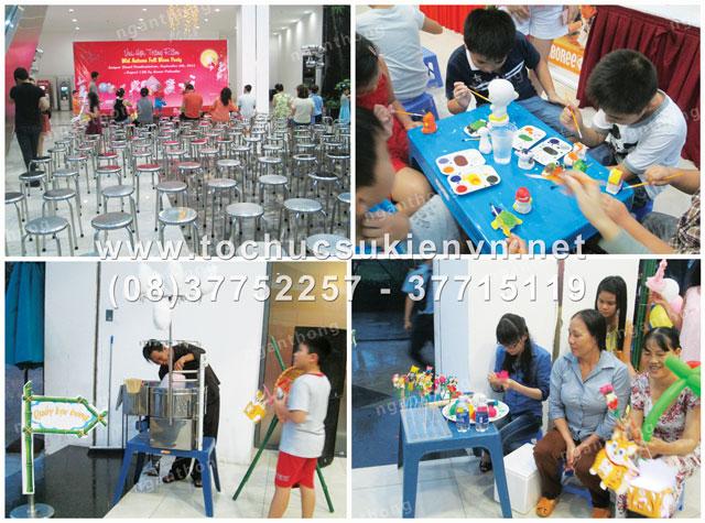 Tổ chức trung thu chung cư Saigon Pearl 3