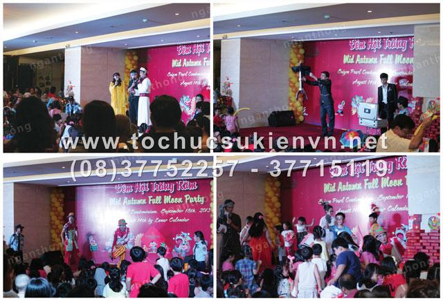 Tổ chức trung thu Sài Gòn Pearl 2013