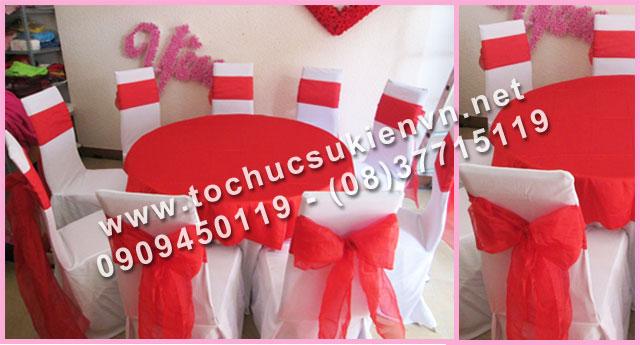 Cho thuê bàn ghế tiệc cưới 3