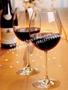 cho thuê ly rượu vang
