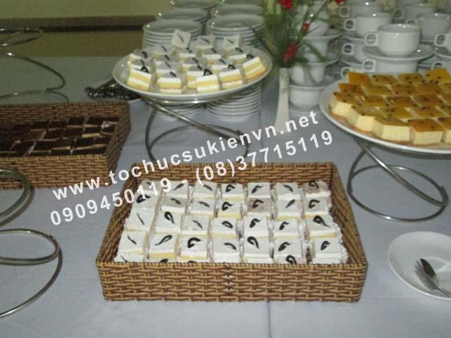 thực đơn tổ chức tiệc chay
