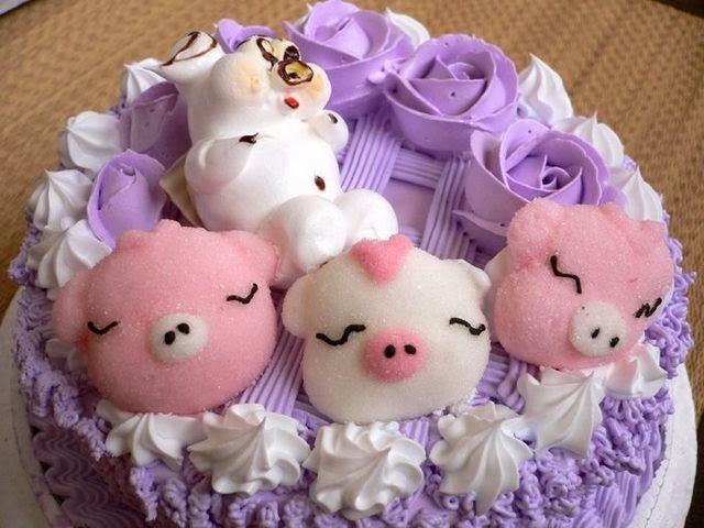 Các mẫu bánh sinh nhật dễ thương cho bé gái 3