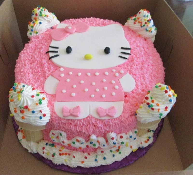 Các mẫu bánh sinh nhật dễ thương cho bé gái