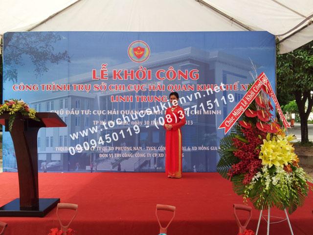 thiết kế backdrop sân khấu